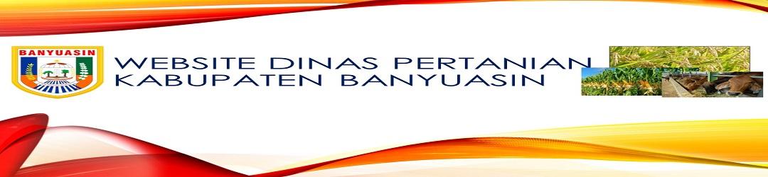 Website Dinas Pertanian Kabupaten Banyuasin